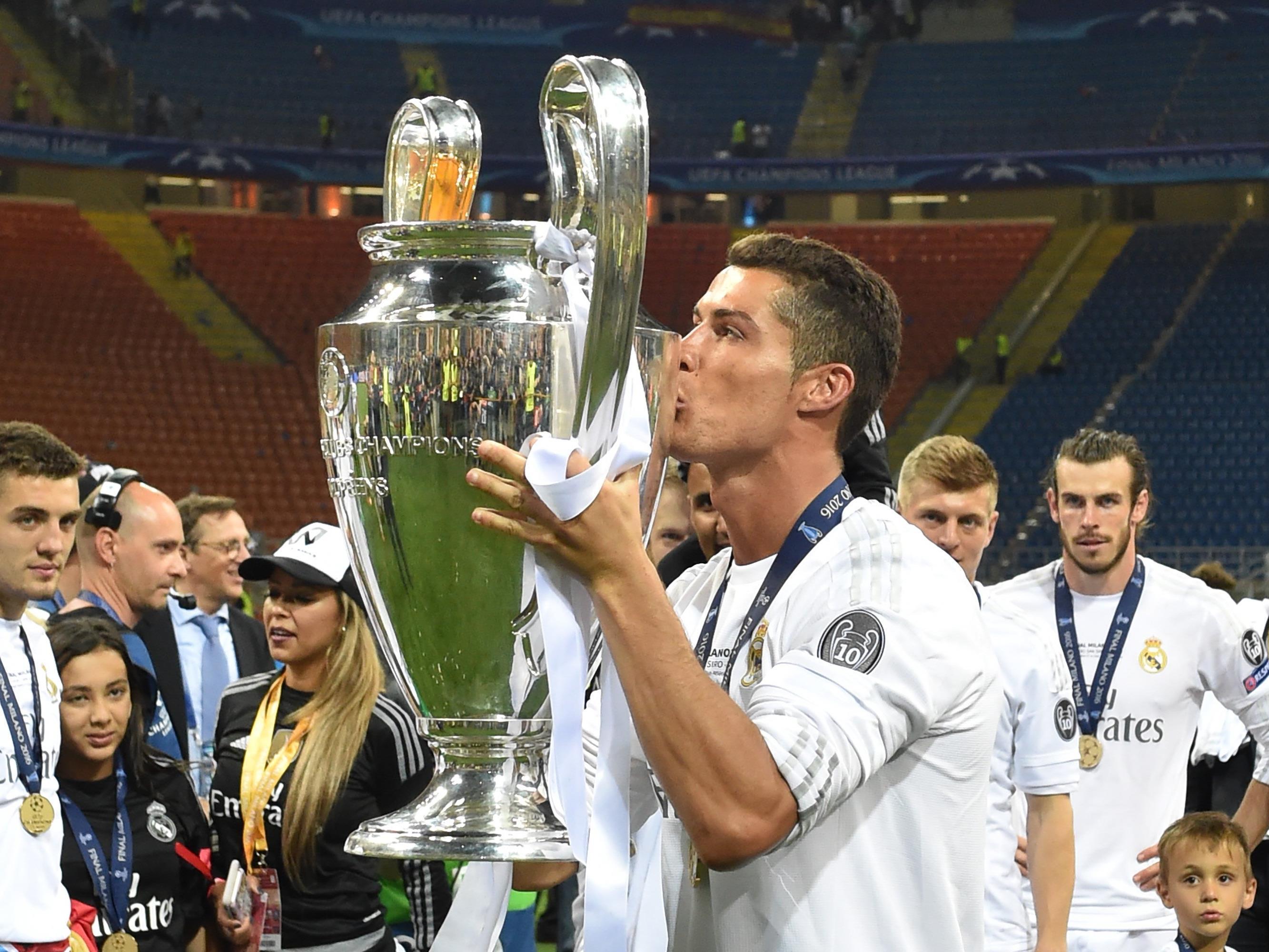 Cristiano Ronaldo sicherte sich den Champions League-Titel.