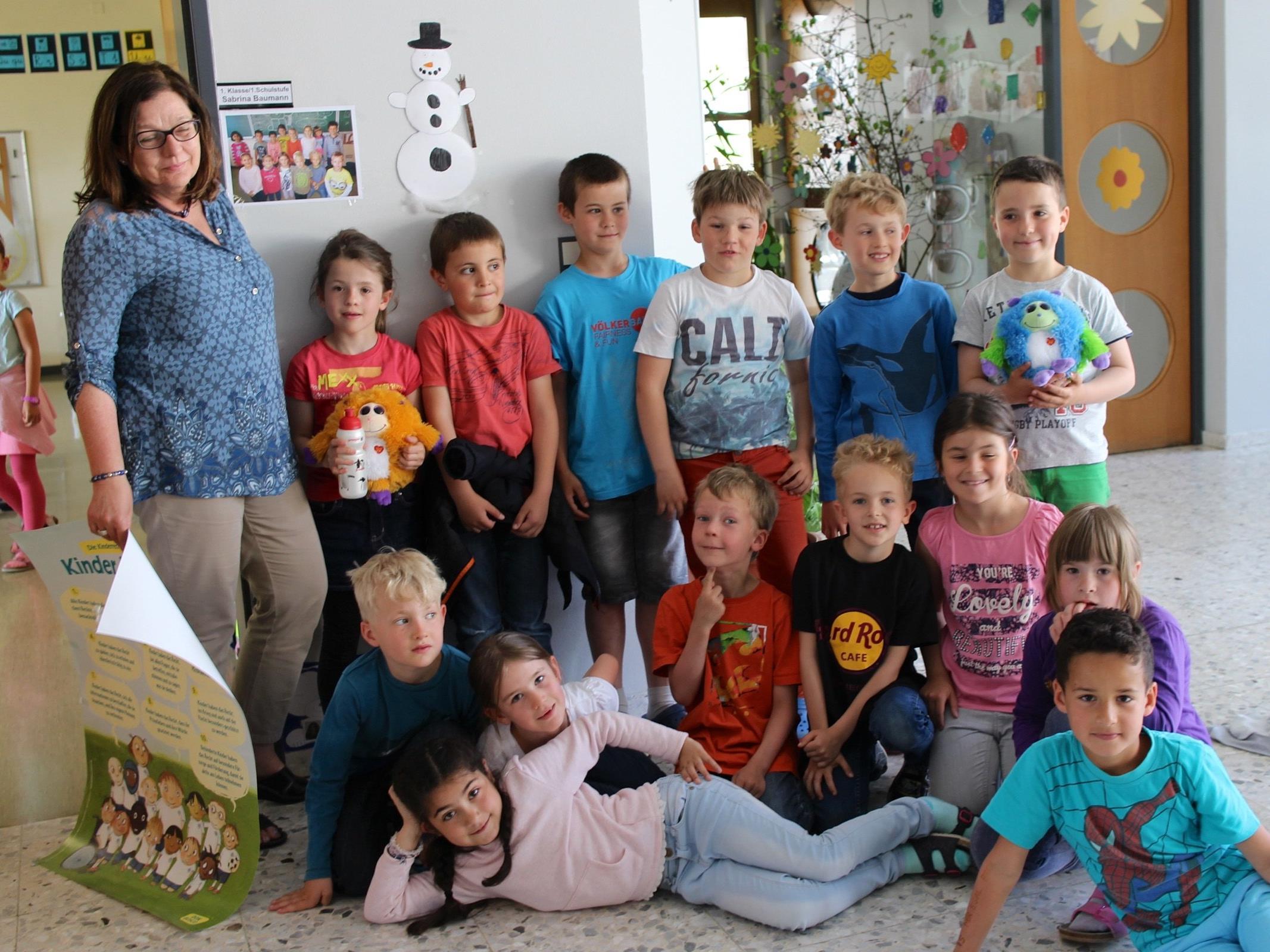 Marlies Vögele ist Schulleiterin und auch Lehrerin aus Leidenschaft und liebt Kinder.