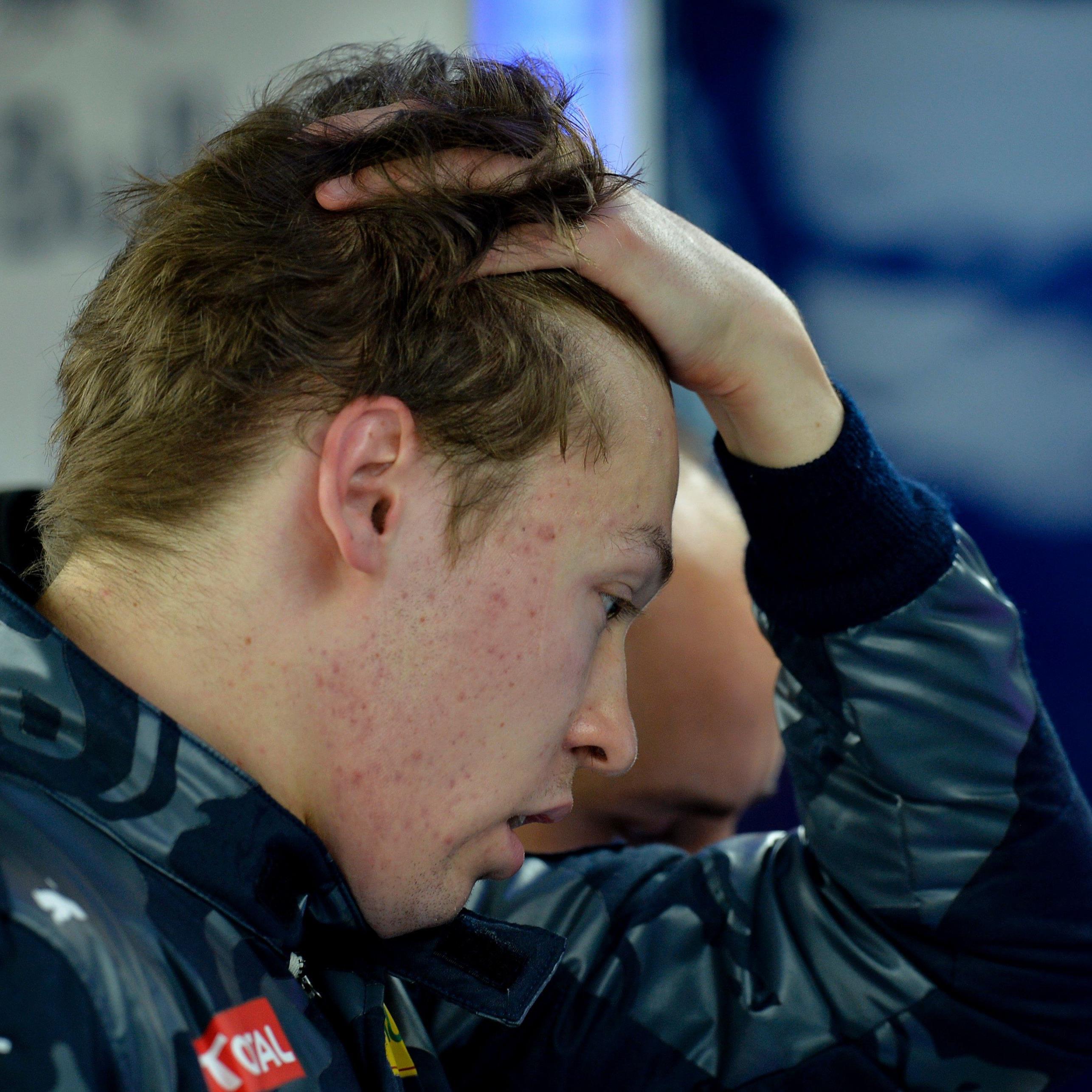 Daniil Kwjat wurde von Red Bull zu Toro Rosso degradiert.