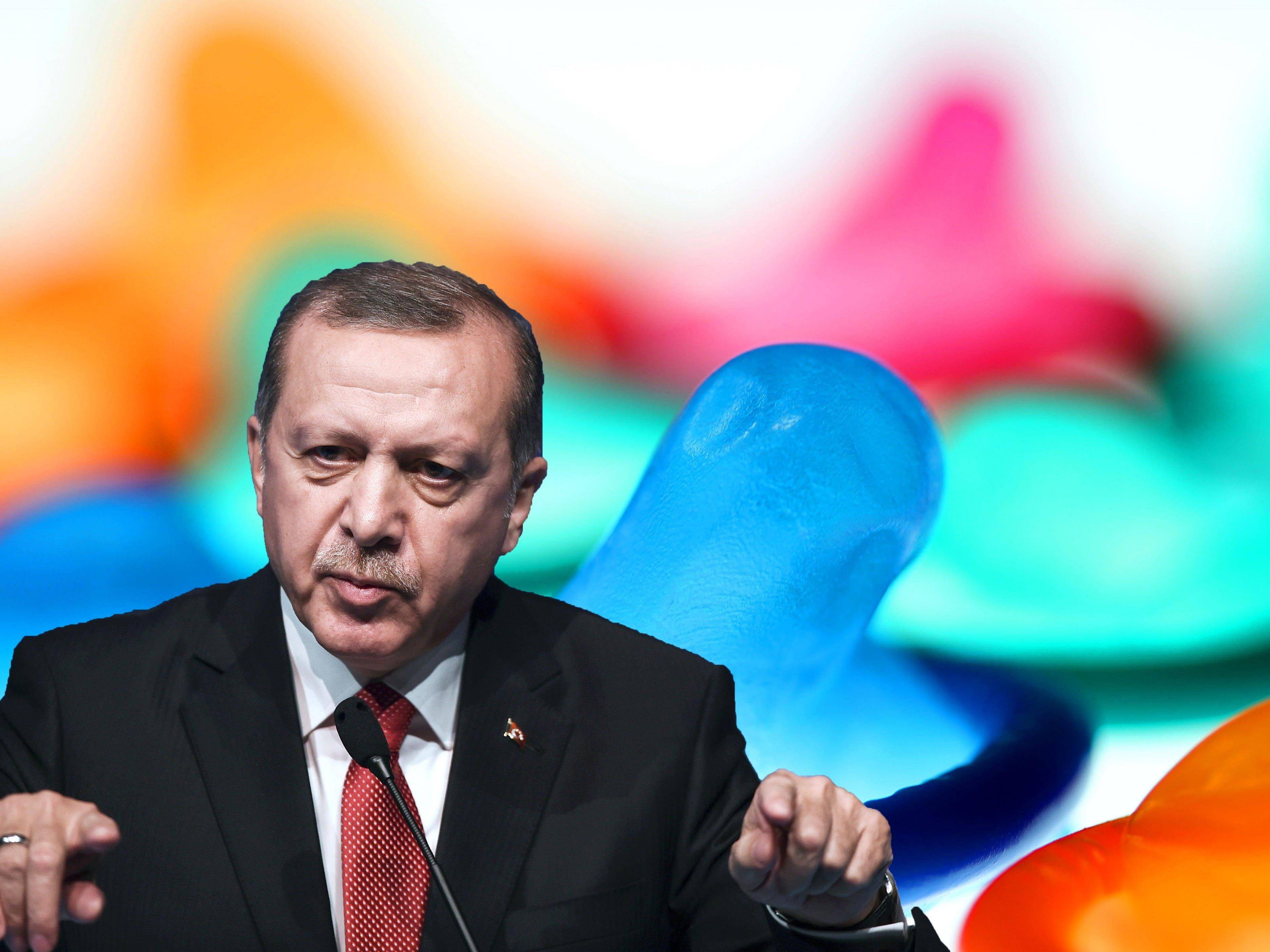 Erdogan ist gegen Empfängnisverhütung.
