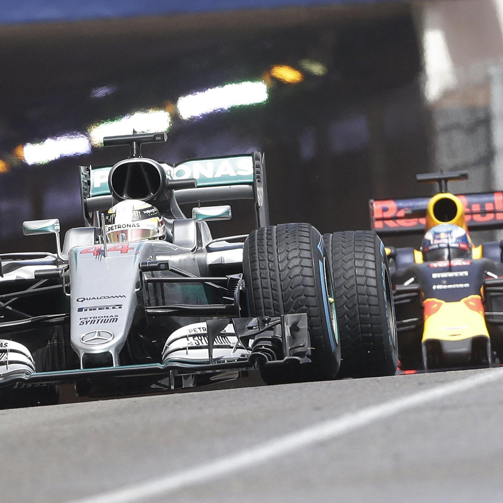 Wenig Freude bei Daniel Ricciardo über Platz zwei im Grand Prix von Monaco.