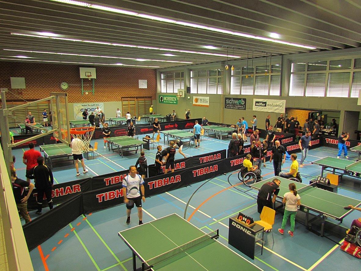 7. Tischtennisturnier der Altacher Firmen- und Ortsvereine