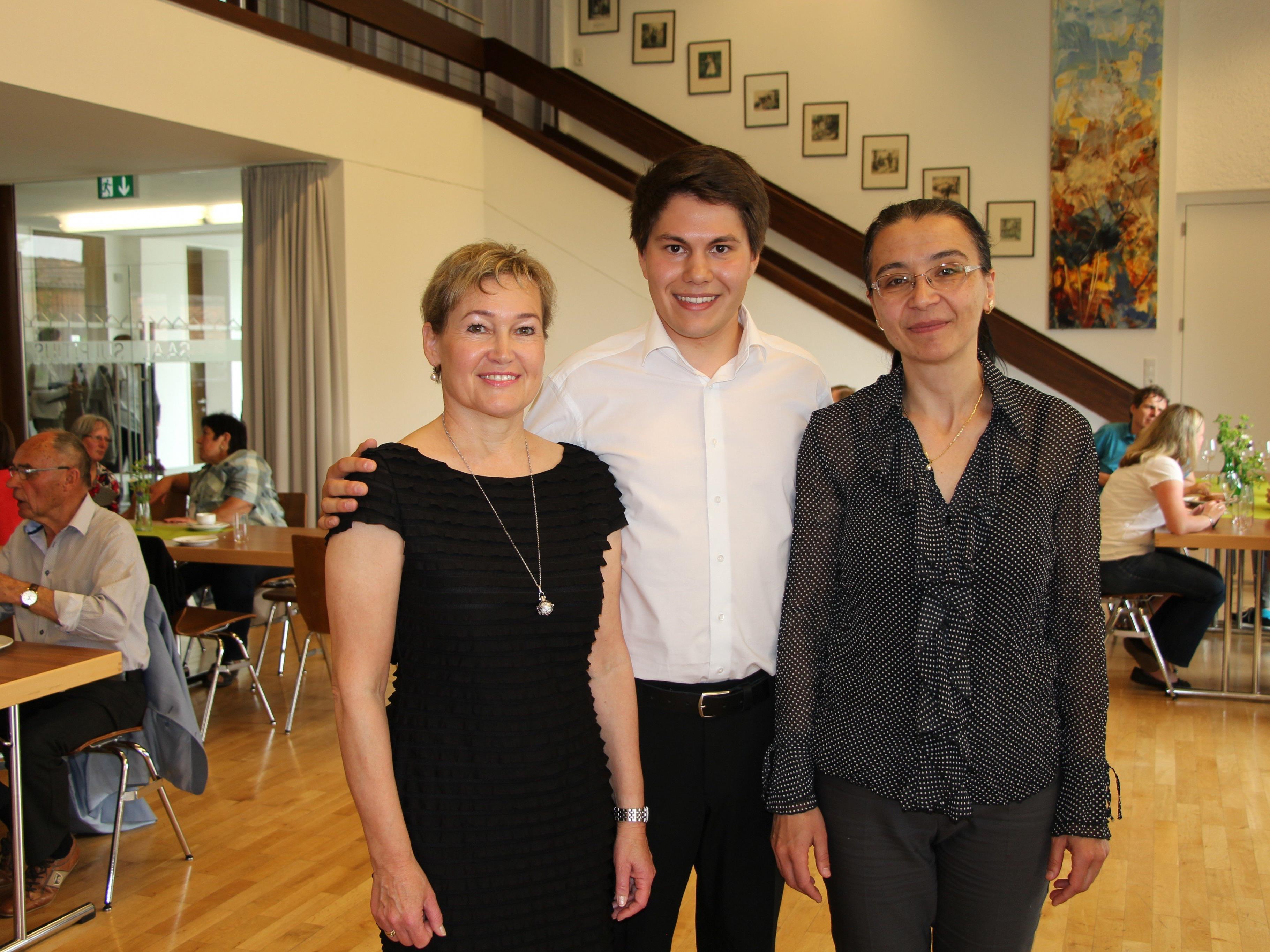 Birgit Plankel, Johannes Schmid und Danaila Deleva.