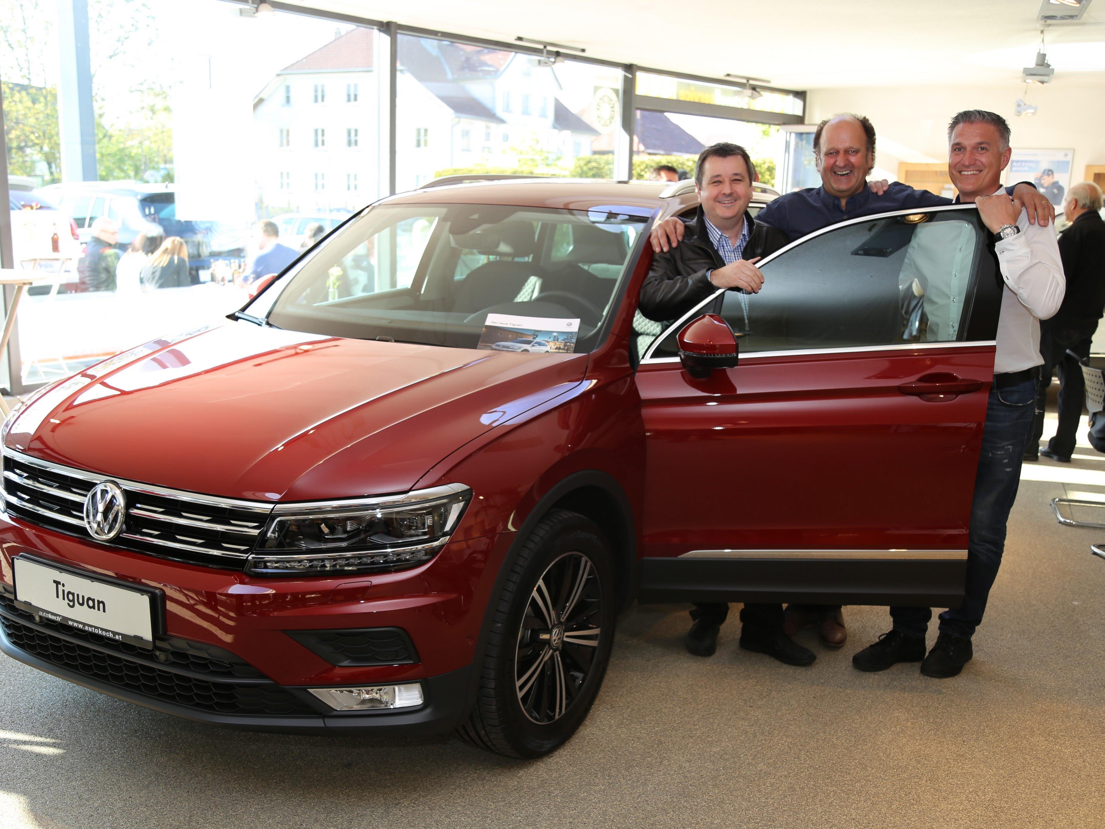 Das Autohaus-Koch-Team freut sich den neuen VW Tiguan zu präsentieren.