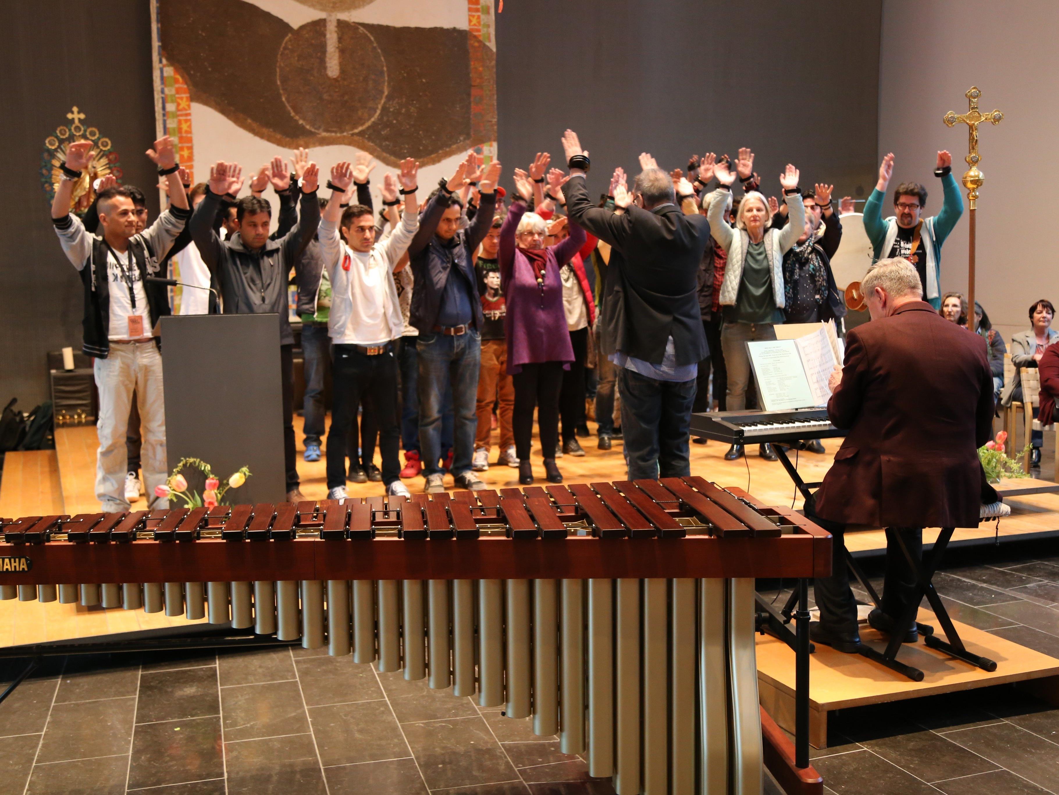 Das gemeinsame Konzert in der Pfarrkirche schweißte die Musikbegeisterte fester zusammen.