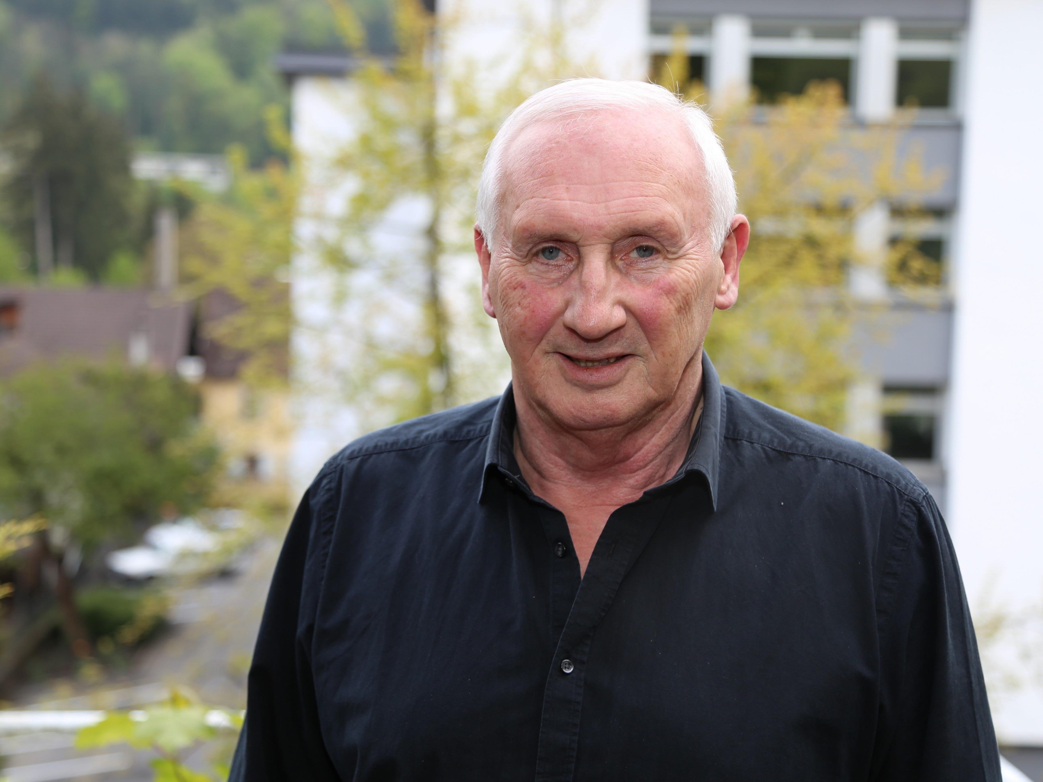Seit 16 Jahren hat Dieter Preschle das Amt des Ortsvorstehers in der Feldkircher Innenstadt inne.