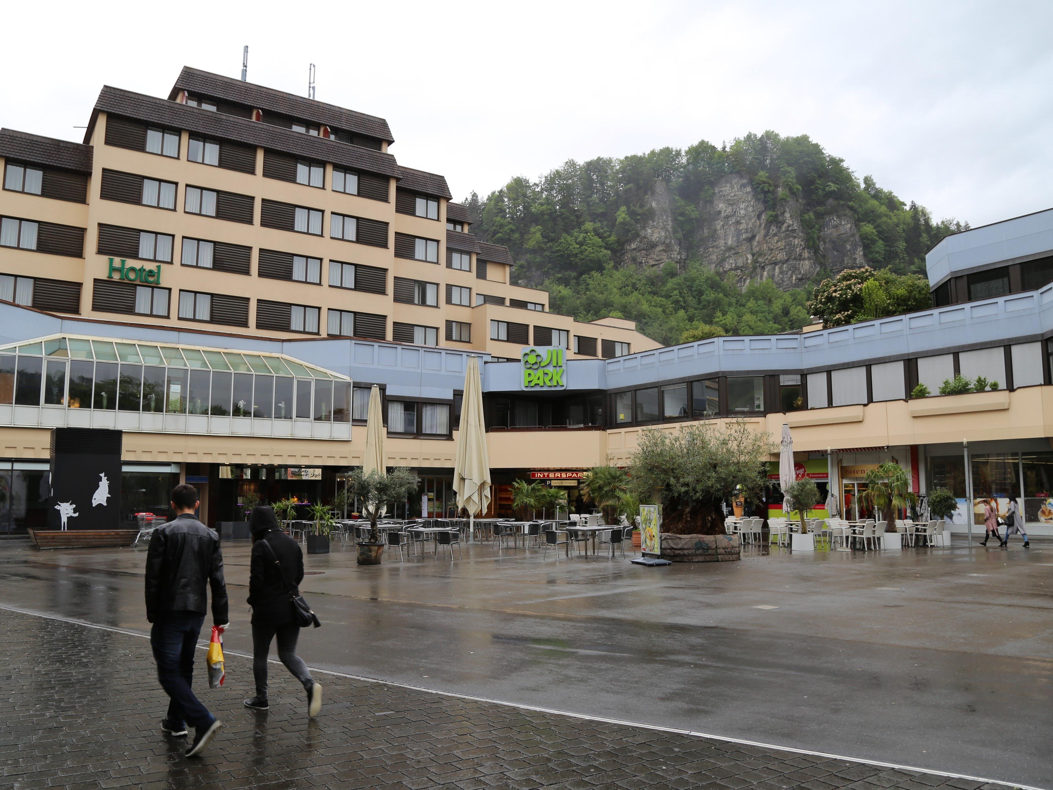 Die Außenfassade des Illparks soll in Teilbereichen erneuert werden.