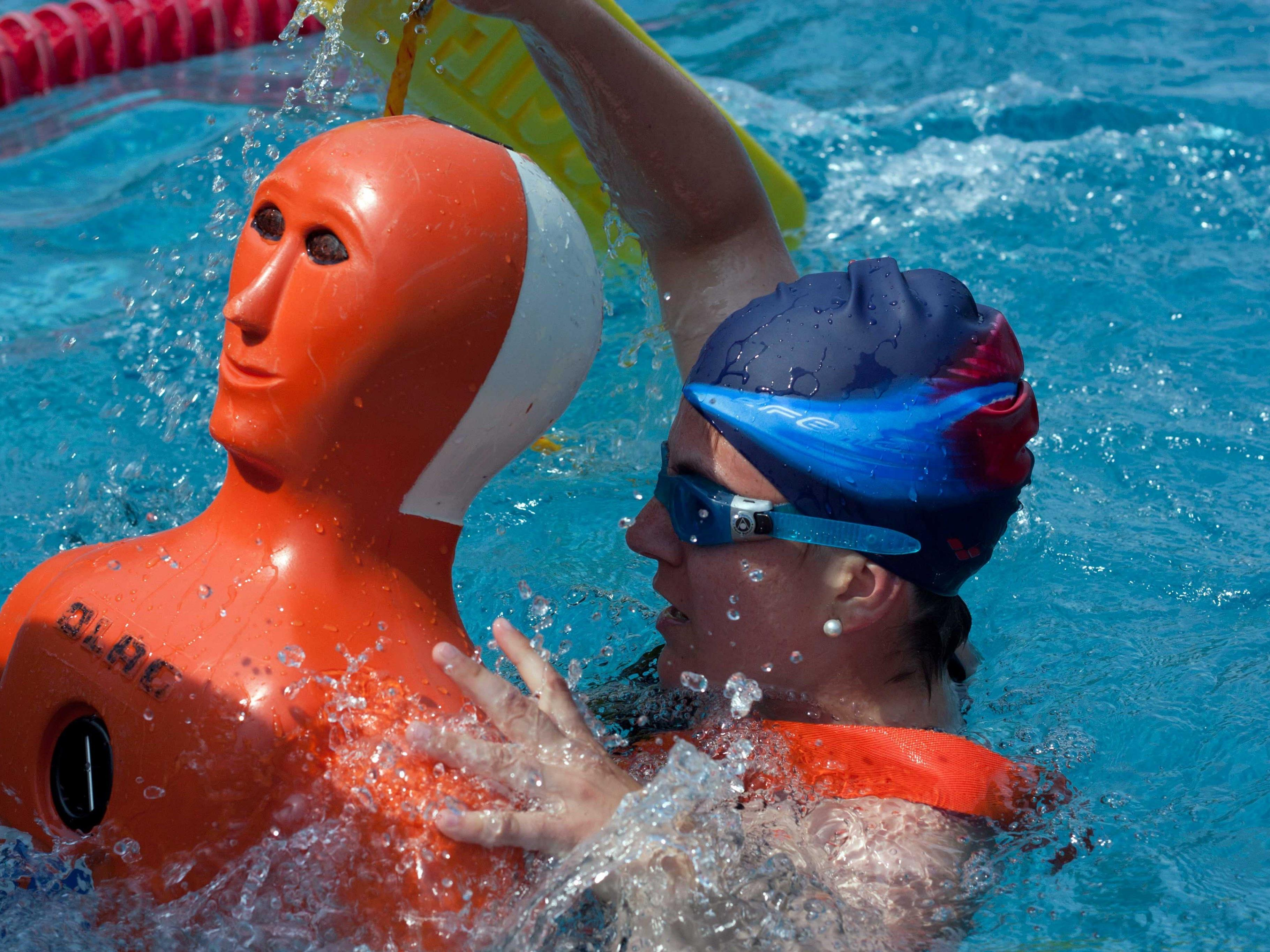 Landesmeisterschaft im Rettungsschwimmen