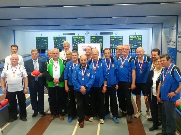 Erfolgreiche PVÖ-Mannschaftskegelmeisterschaft 2016