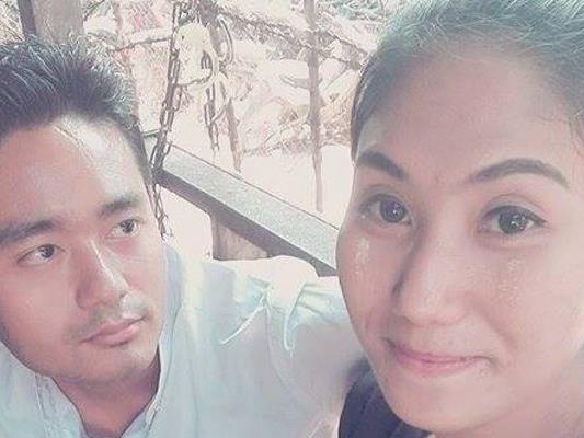 Maung Saungkha mit seiner Freundin Shar Yamone.