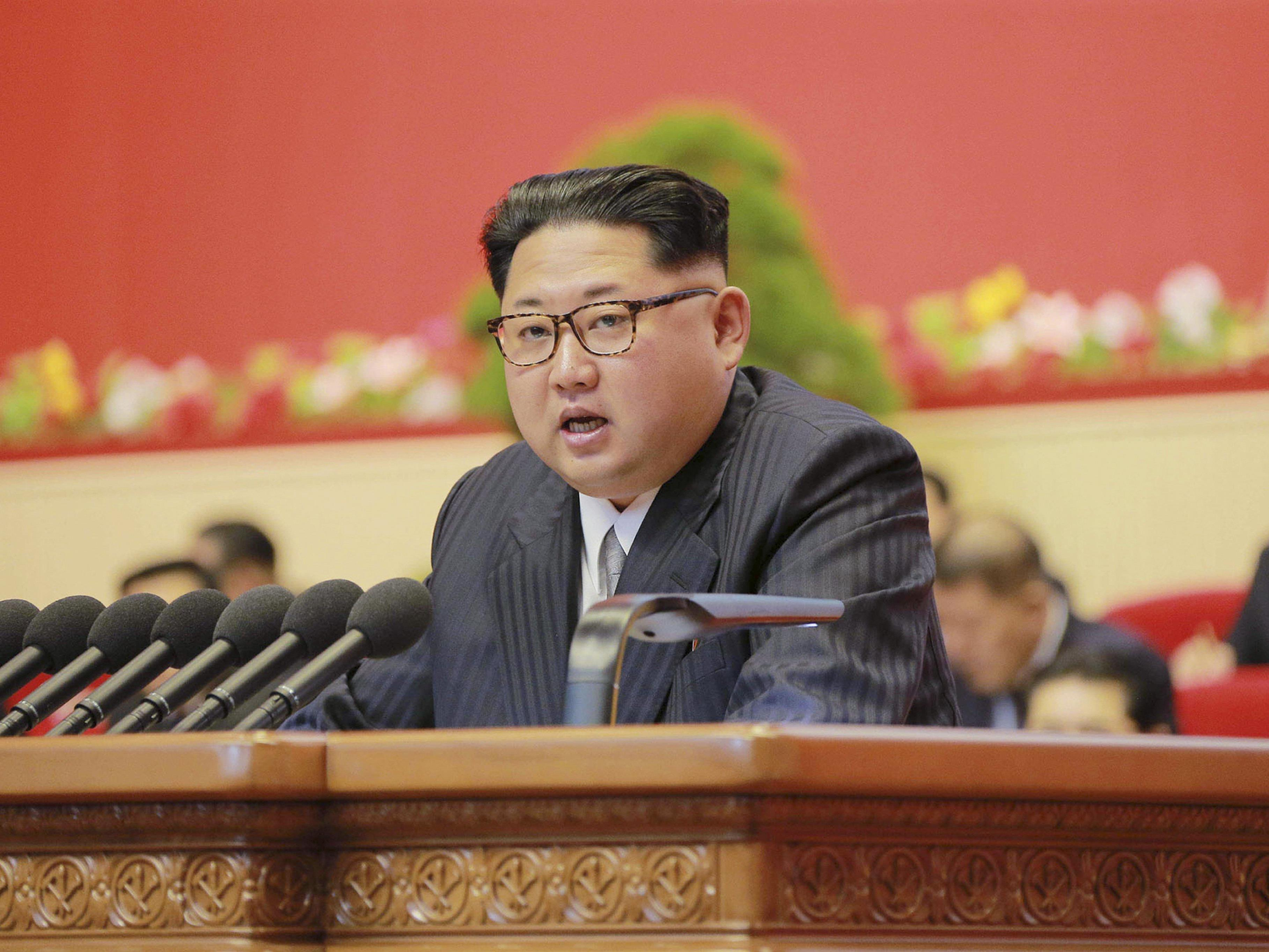 Nordkoreas Führer Kim Jong Un achtet penibel darauf, worüber ausländische Journalisten berichten.