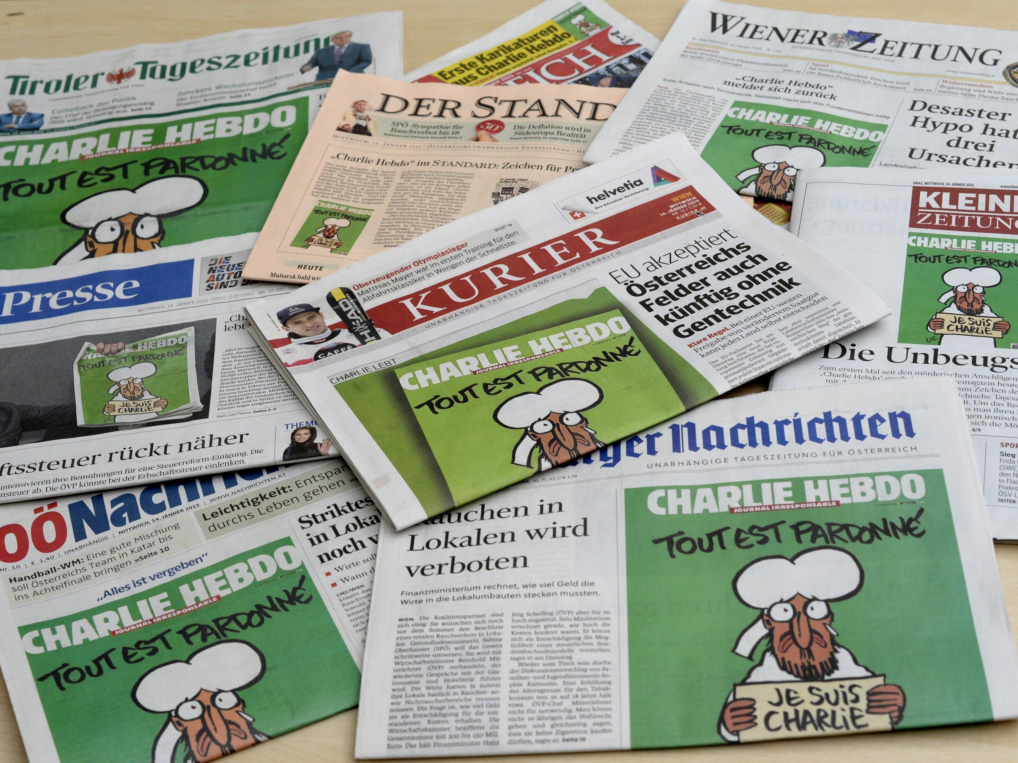 Die Pressefreiheit in Österreich leidet.