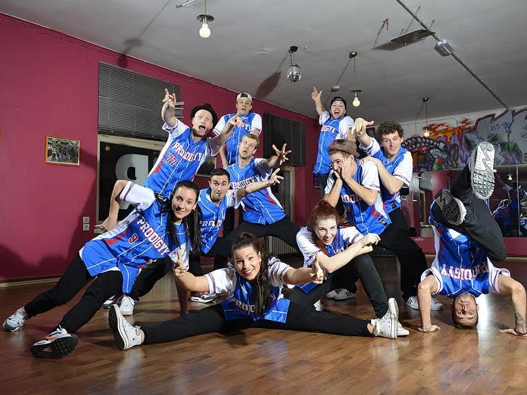 Die Prodigy-Dance-Crew freut sich bereits auf die Vorarlberger Tanz-Gala 2016 am 27. Mai.
