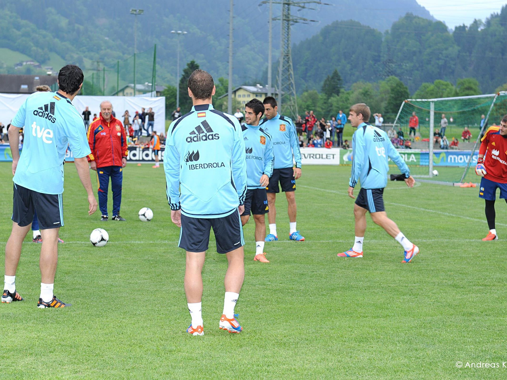Casillas, Iniesta & Co. trainieren wieder im Montafon