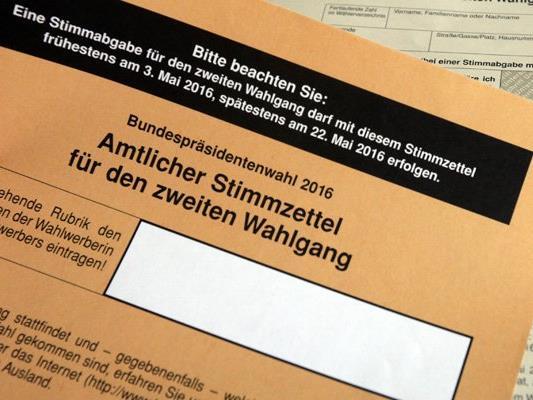 Wahlkarten können noch bis Mittwoch 18. Mai schriftlich und Freitag, 20. Mai persönlich beantragt werden.