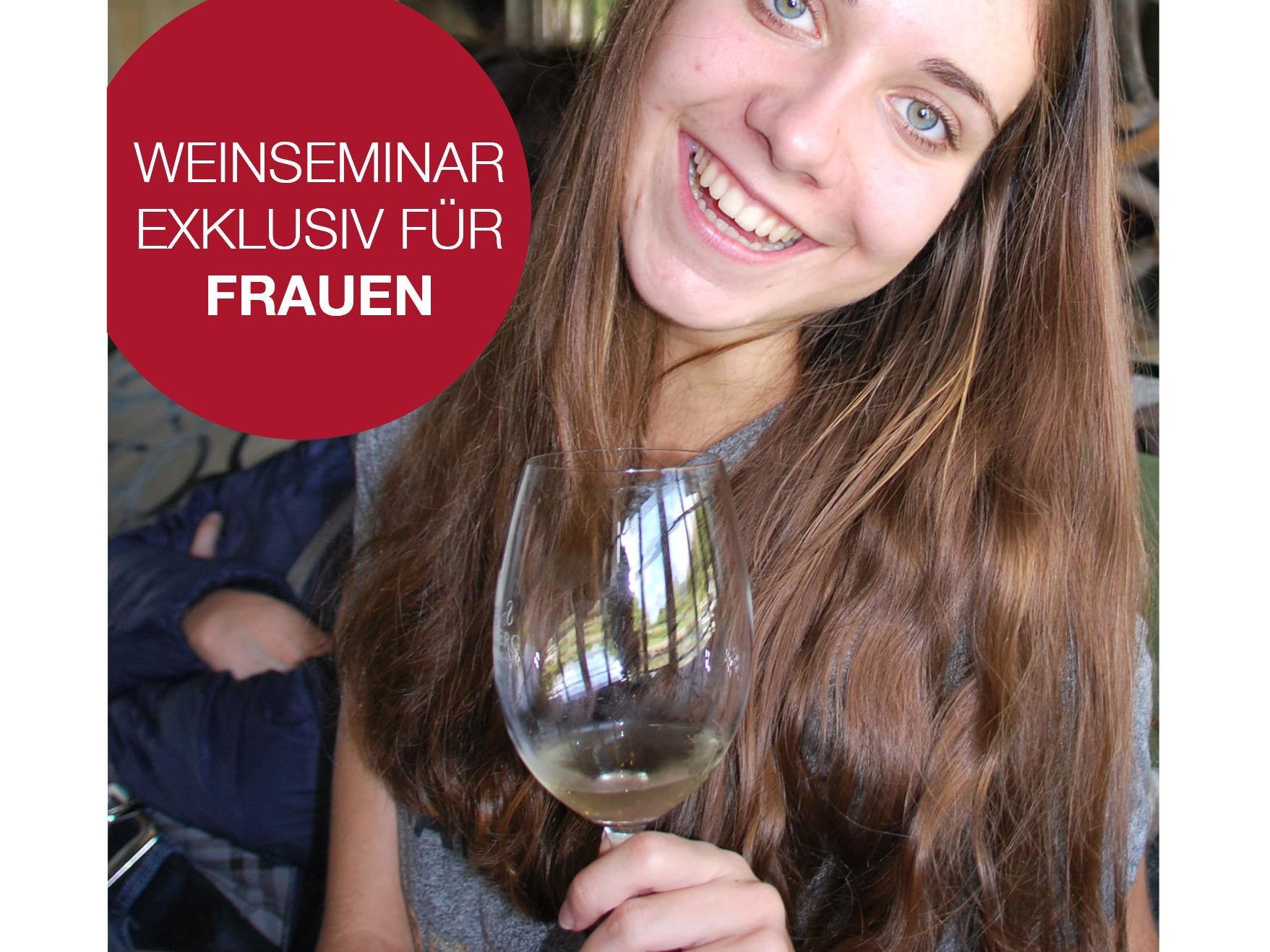 Weinseminar exklusiv für Frauen