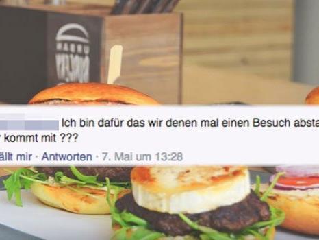"""""""Erdogan-Burger"""" schlägt manchen offenbar auf den Magen."""
