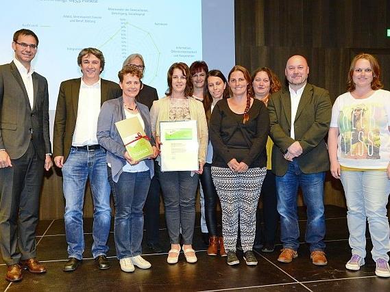 Als familieplus-Mitglied der ersten Stunde überzeugte die Gemeinde Bludesch die Auditoren bereits zum zweiten Mal.