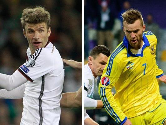 Deutschland trifft in Runde eins der EM-Gruppe C auf die Ukraine.