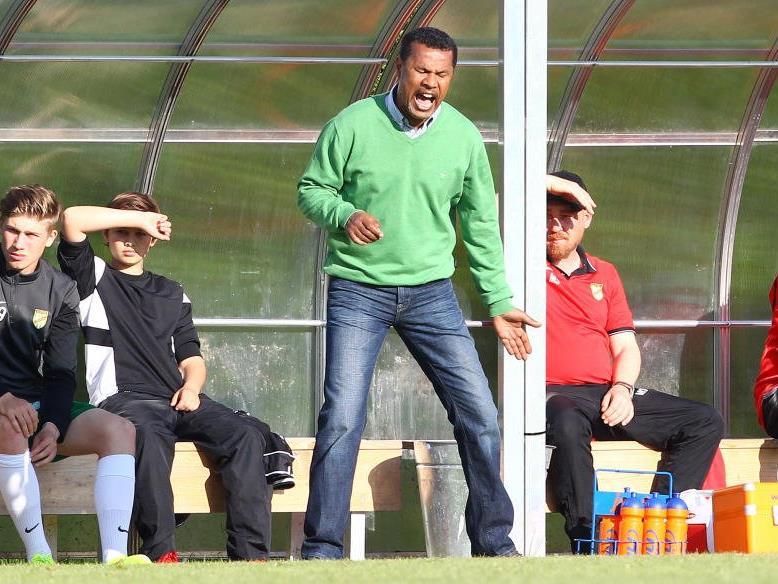 Austria Lustenau Coach Lassaad Chabbi ist stolz auf seine Mannschaft