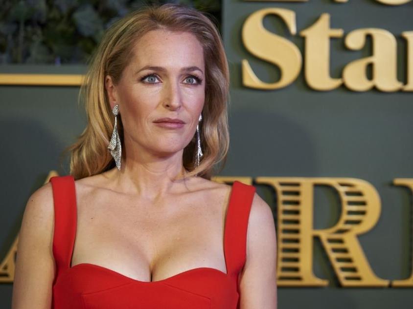 "Gillian Anderson wurde als ""Scully"" in Akte X bekannt."
