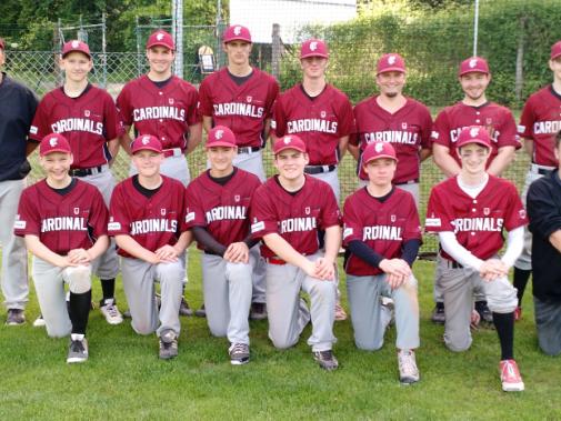 Das junge Team Cardinals II mit ausschließlich Eigenbauspielern