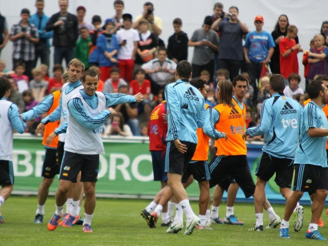 Spanische Superstars trainieren im Montafon