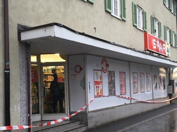 Nach Überfall auf einen Spar-Markt in Bregenz-Vorkloster
