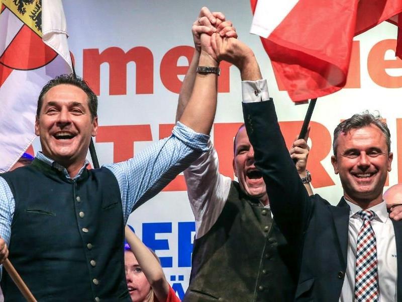 Strache und Hofer: Sie wollen bei der nächsten NR-Wahl mindestens 30 Prozent der Stimmen einfahren.