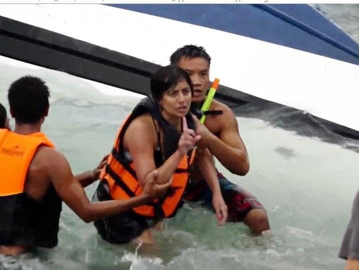 Drei Touristen starben bei dem Bootsunfall.