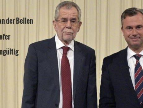 Van der Bellen gegen Hofer in der Stichwahl.