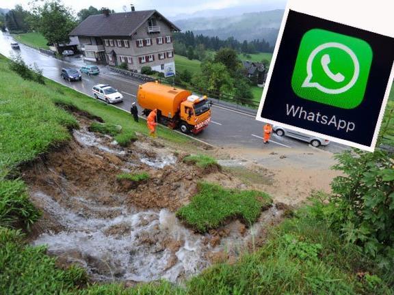 Jetzt können Sie uns Ihre Bilder auch via WhatsApp senden.