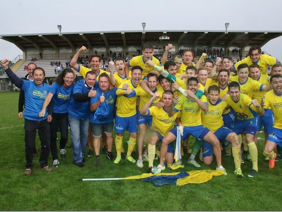 Ländlekicker.VOL.AT gratuliert VfB Hohenems zum VL Meistertitel