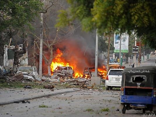 Auto der Attentäter war mit Sprengstoff beladen
