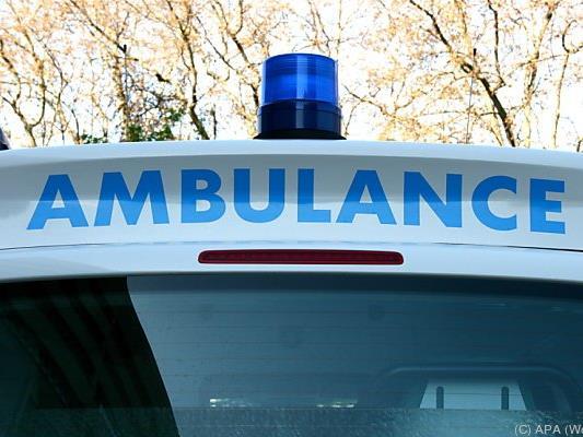 Zwei Menschen erlitten schwere Brandwunden