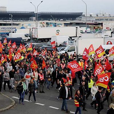 Streiks in Frankreich gehen weiter