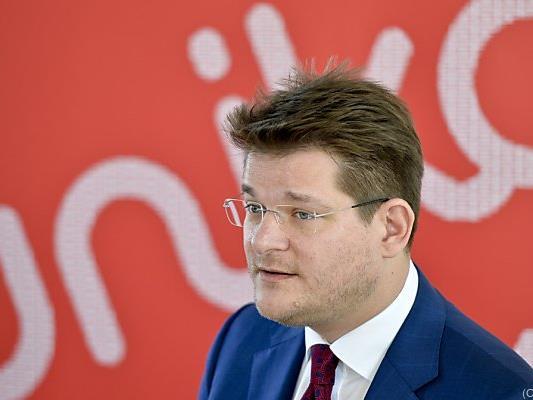 Rektor Oliver Vitouch wurde attackiert