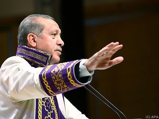Erdogan sorgte in den USA für einen Eklat