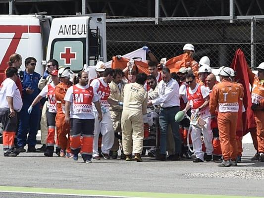 Der Moto2-Pilot starb im Krankenhaus