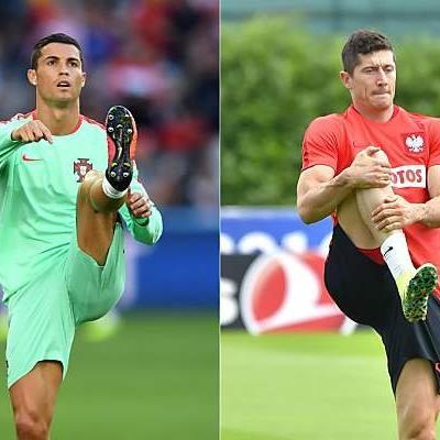 Ronaldo und Lewandowski sind die Aushängeschilder der Partie