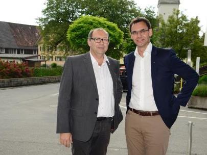LH Wallner diskutierte mit Vereinsobleuten, Wirtschaftstreibenden und Mitgliedern der Gemeindevertretung von Hohenweiler, Eichenberg und Möggers