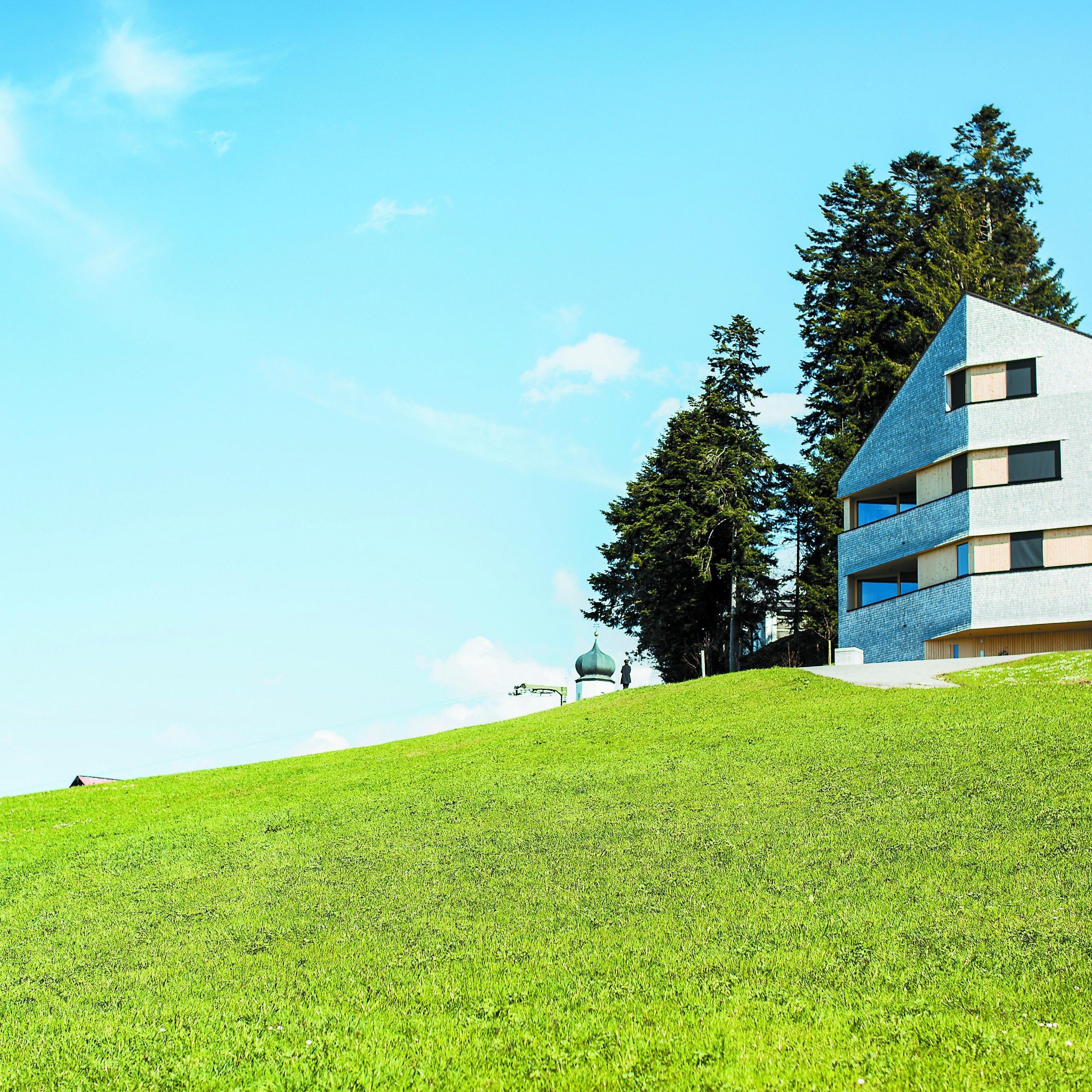 Architekt Juri Troy feilte lange am Baukörper dieses Hauses.