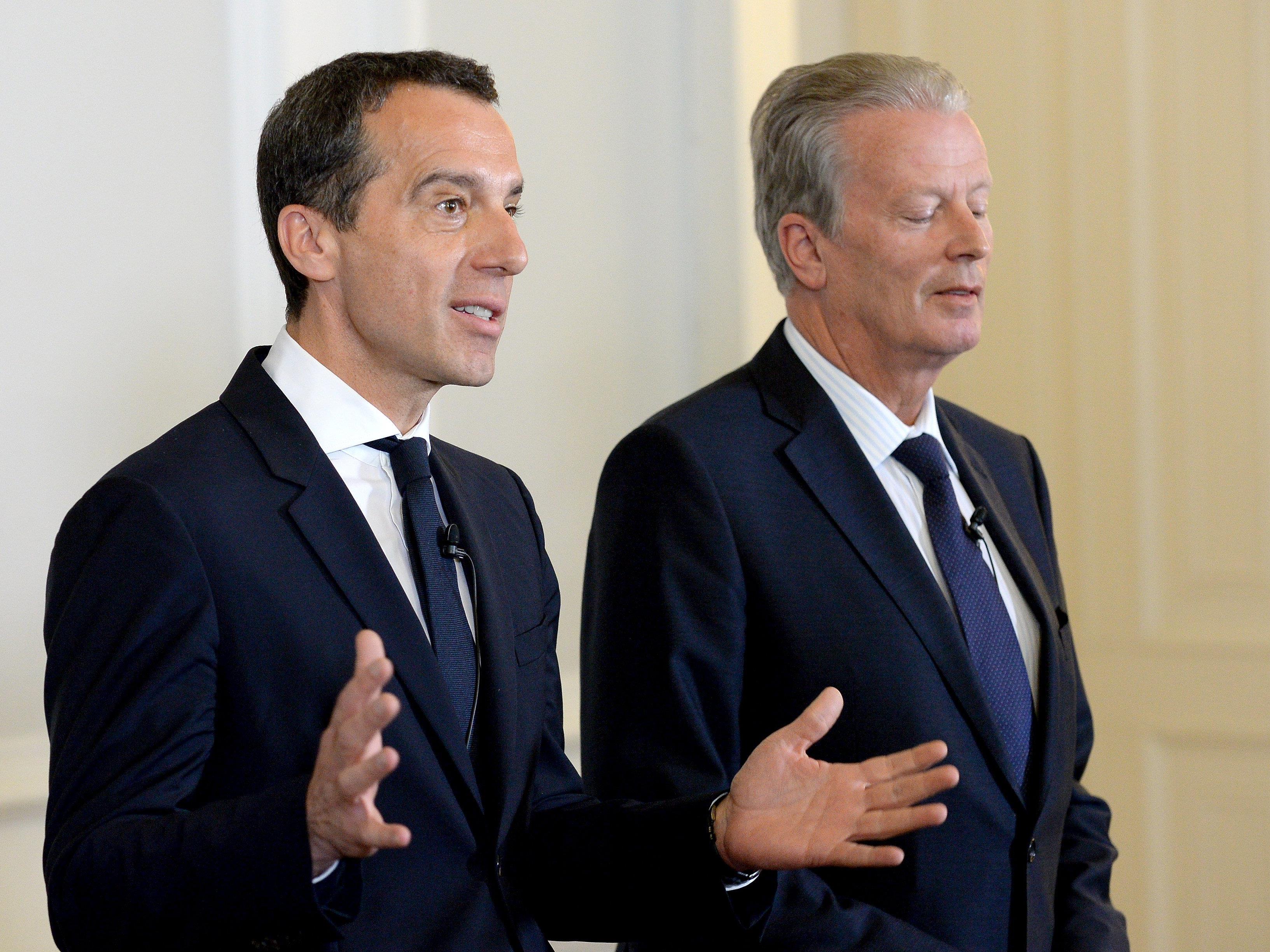 ÖVP-Attacken gegen Kern - FPÖ fordert Kurz zu Ordnungsruf auf.