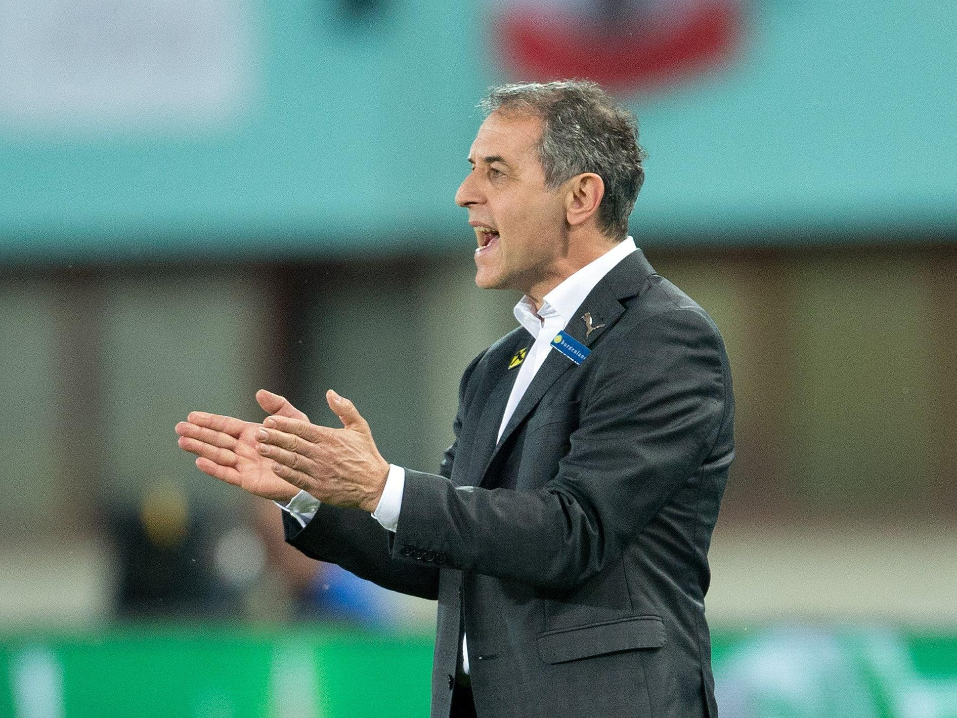 ÖFB-Teamchef Marcel Koller blickt zuversichtlich in Richtung EM.