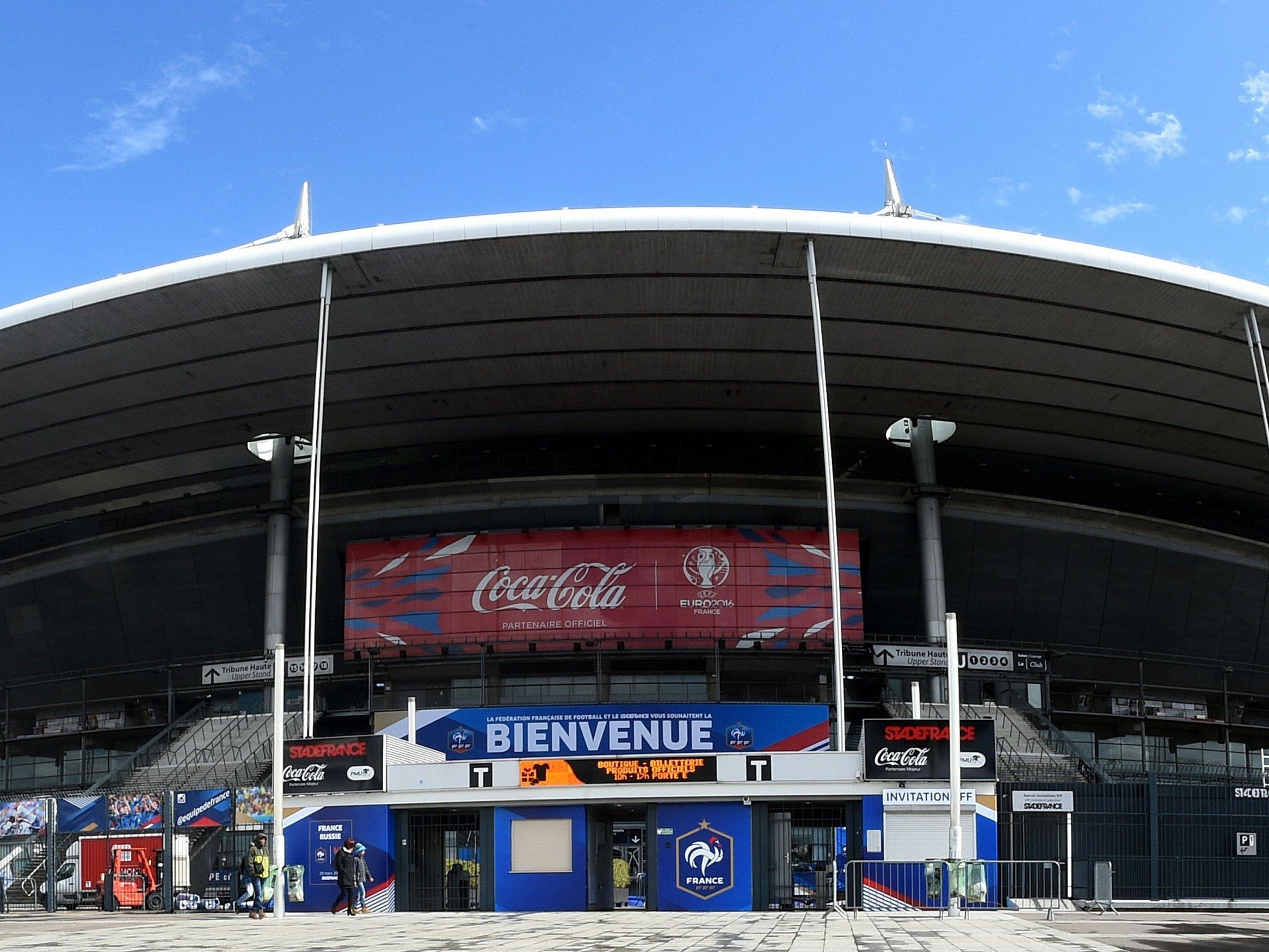 Das Stade de France in Saint-Denis, nördlich von Paris.