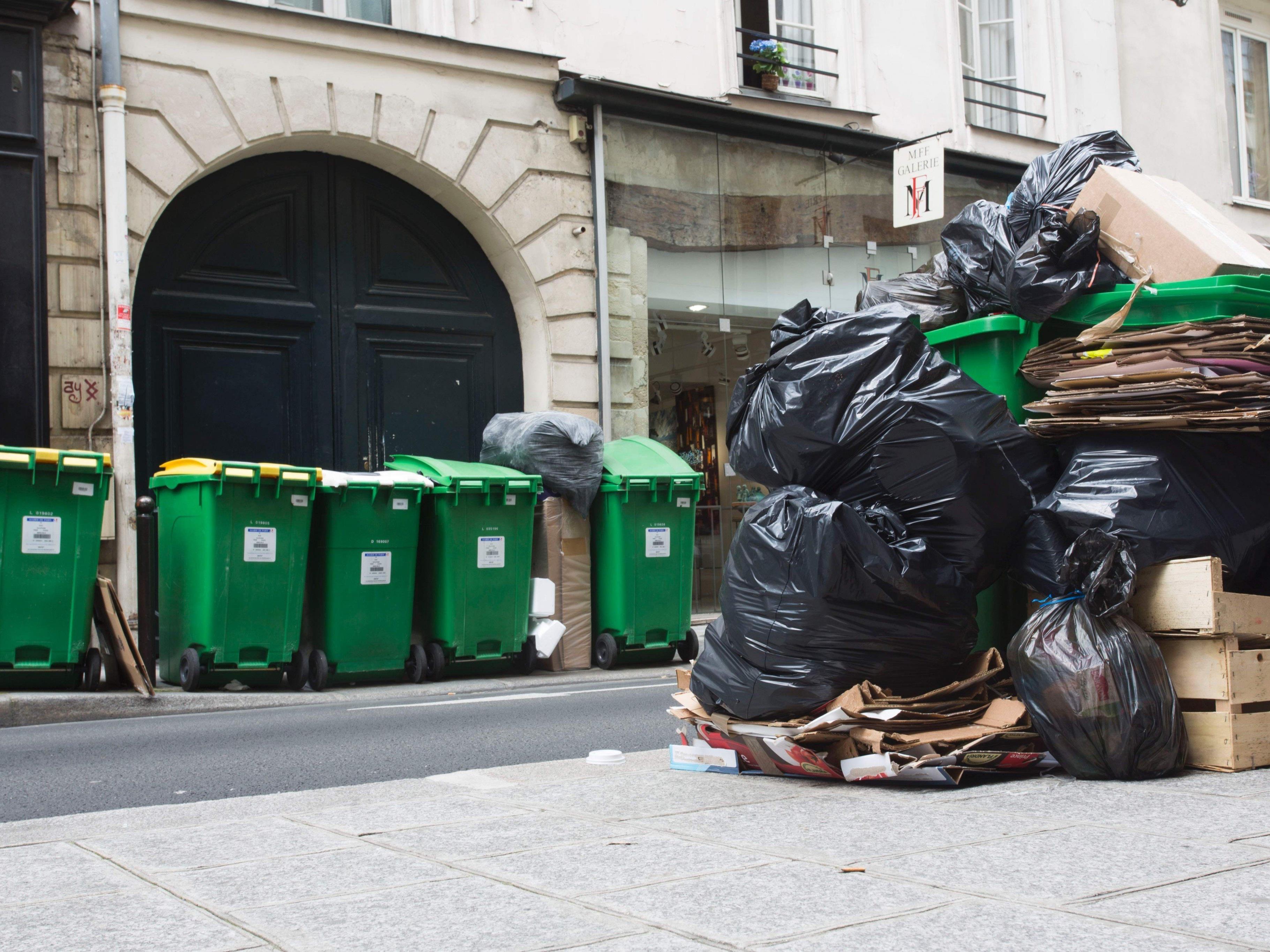 In Frankreich halten die Streiks nach wie vor an.