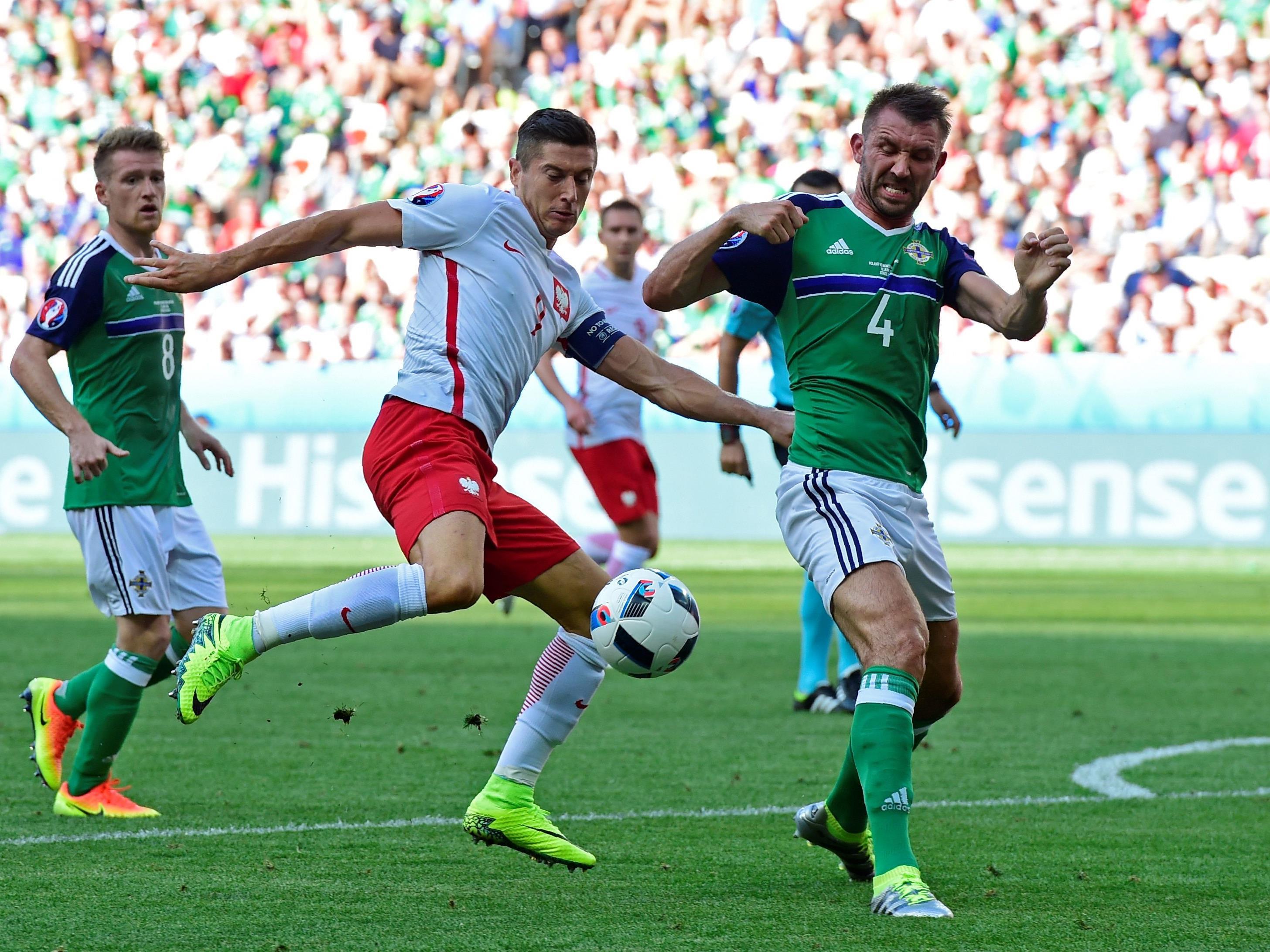 Polen startete mit einem Sieg gegen Außenseiter Nordirland in die EURO 2016.