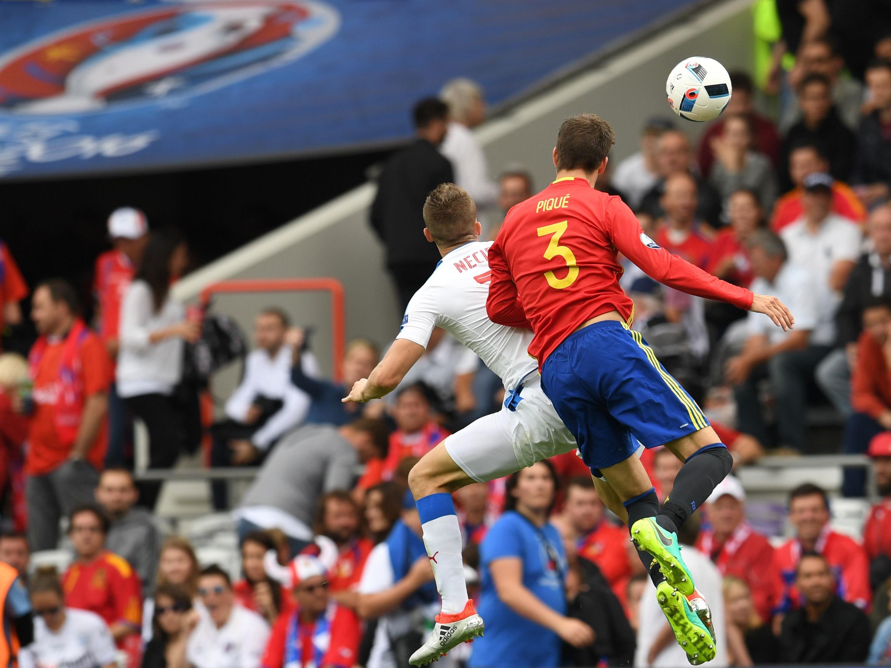 Gerard Piqué traf kurz vor Schluss zur Entscheidung.