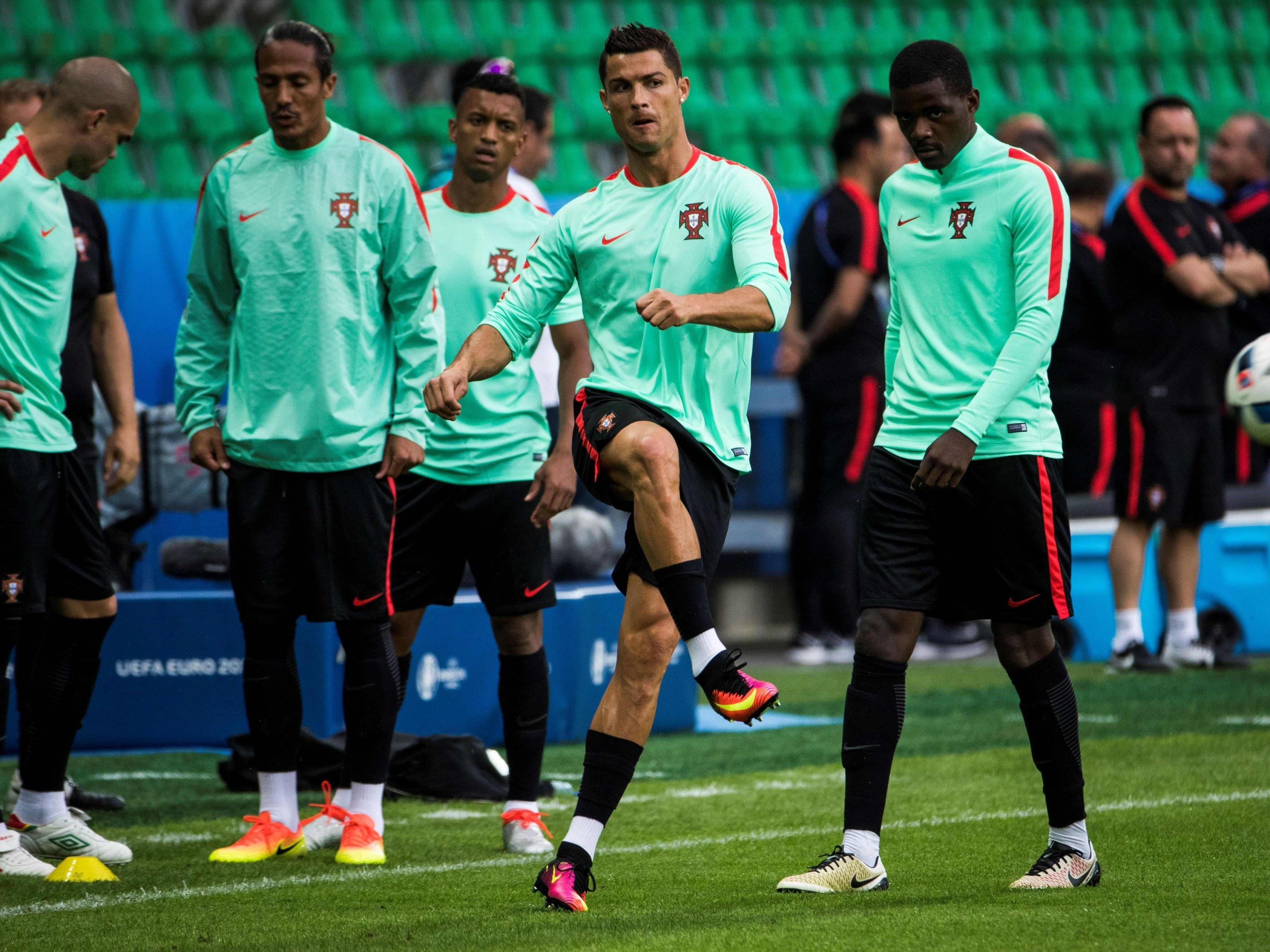 Die portugiesische Nationalmannschaft trainiert nicht im Prinzenparkstadion.