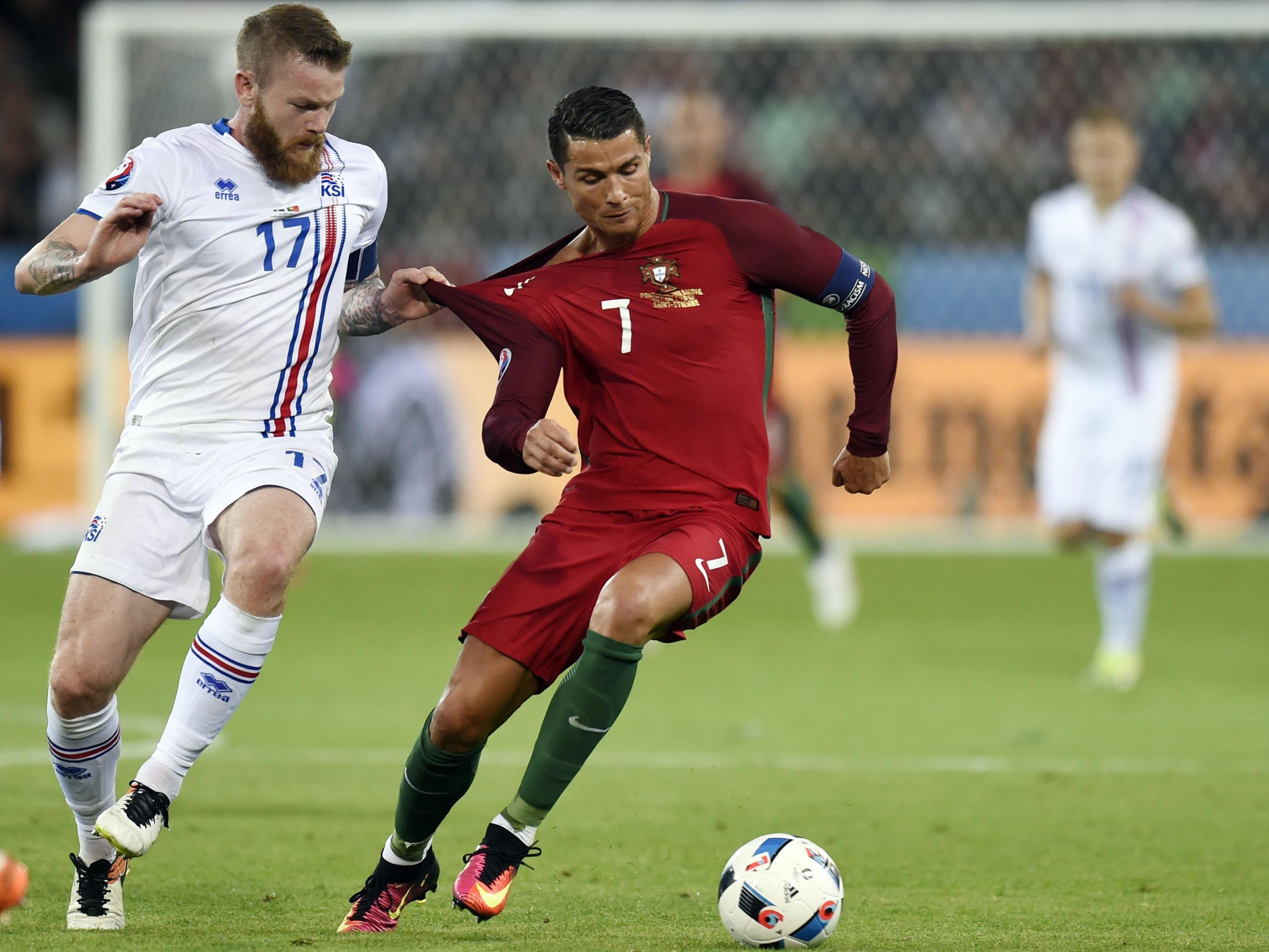 Für Ronaldo und Co. reichte es nur zu einem 1:1 gegen Island.